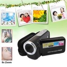 Цифровой Камера Camcorde Портативный видео Регистраторы 8X цифровой зум 1.5 дюйма Дисплей 16 миллионов дома на открытом воздухе видеокамера Регистраторы