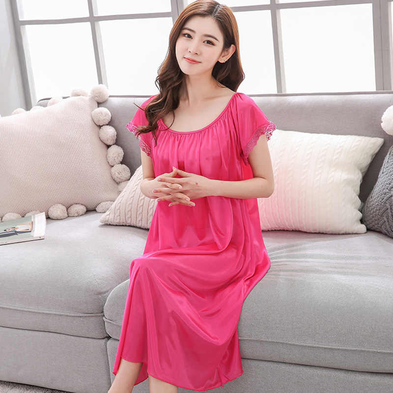 31e12a7cdf Pregnant Long Dress Women Casual Long Sleeve O Neck Hollow Out Evening  Party Long Maxi Maternal pregnancy Pajamas Sleepwear