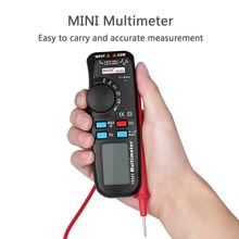 6000 Counts Digital Multimeter Auto-Ranging Meter Voltmeter Ohmmeter Measuring  Voltage Current Resistance  Tester with TRMS LCD digital lcd multimeter 6000 counts mini multi meter voltmeter ohmmeter ac dc voltage current resistance capacitance meter tester