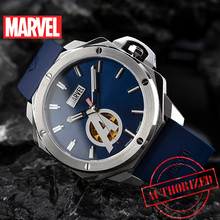 Disneys official Genuine Marvel Iron Man Automatic mechanical  Watch Hollow leather strap stainless steel Limited Version 2019