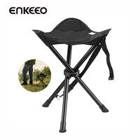 Portable Tripod Stool Folding Chair With Carrying Bag For Outdoor Camping Hunting Hiking Travel Fishing Chairs