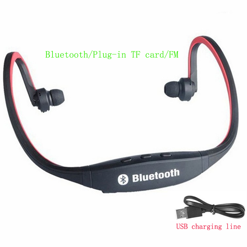 Wireless <font><b>Bluetooth</b></font> HD Earphone Running Sports Stereo Bass Headset Hand-free Call <font><b>Headphones</b></font> with Mic for Phone image