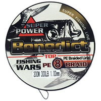 Brand New Supper Strong Japan Multifilament Fishing Line Large 300LB 1mm 8 Strands Pe Braided Wire