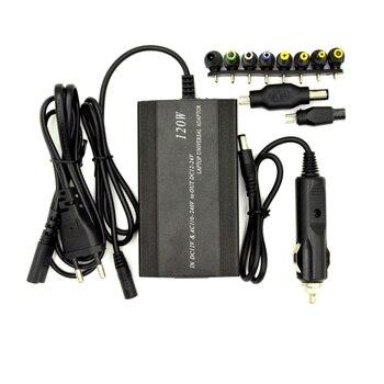 Excellway 120 w 12-24 v מתכוונן אספקת חשמל מתאם AC/DC מתאם מתח 5 v יציאת USB