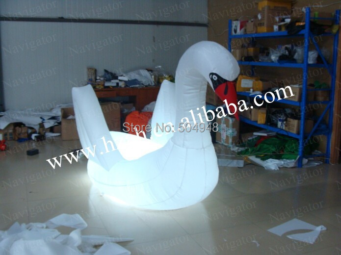 купить Wedding Inflatable Goose Decorations with Led Light недорого