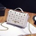 Women Bag Bolsos Mujer Tote Bag Rivet Designer Handbags High Quality PU Women Leather Handbags Clutch Shoulder Bag Pillow Bags