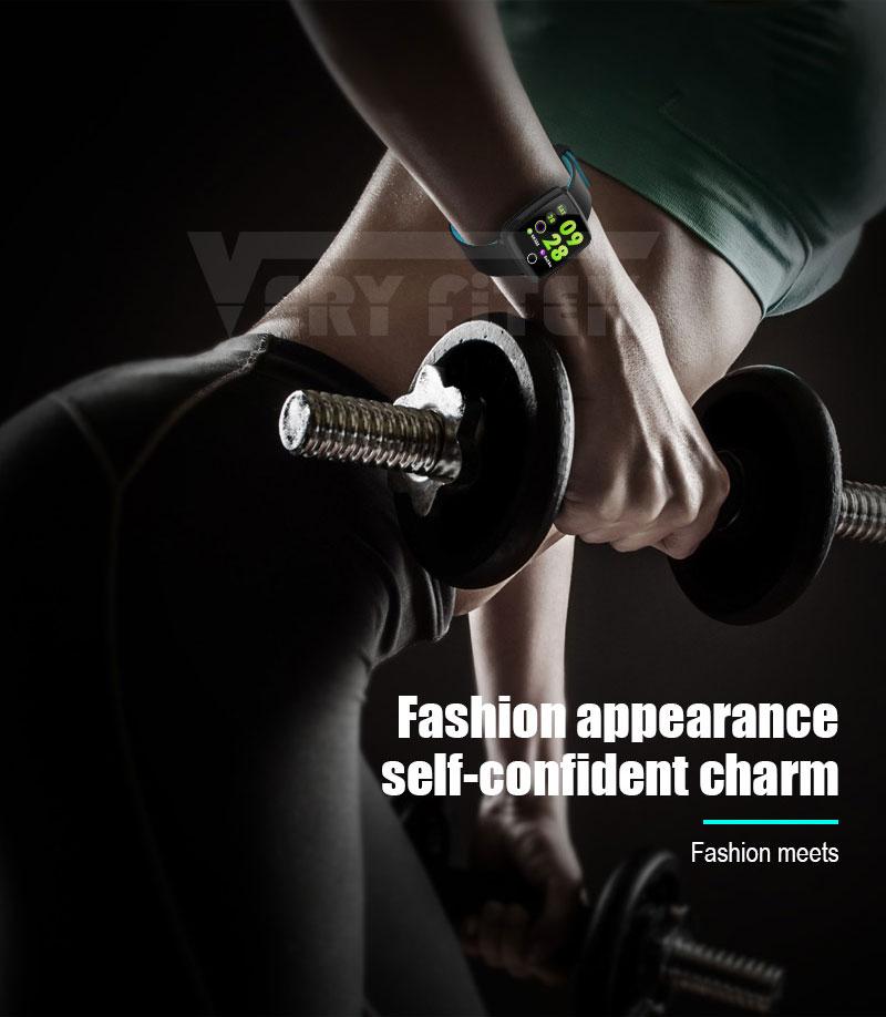 VERYFiTEK Smartwatch Blood Pressure Heart Rate Monitor Men Women Sport Watch Pedometer Stopwatch Smart Watch for IOS Android (3)