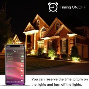 Image 3 - Reflector de luz LED inteligente para exteriores, RGB, 15W, Bluetooth 4,0, Control por aplicación de 360 °, IP66, para jardín, resistente al agua, cambia de Color