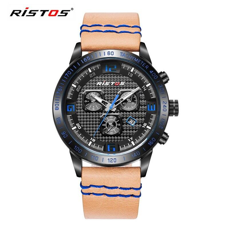 Man Leather Army Military Wrist Watch S Luxury Style Shock Brand Female Sports Watches Men's Quartz Date Clock relogio masculino romanson rm 7a01f lw wh
