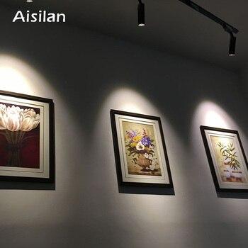 Aisilan Modern LED Track Light Ceilng Spotlights AC85-260V 360+90 Degree Adjustable 5W 7W Lighting Fixtures for Living Light