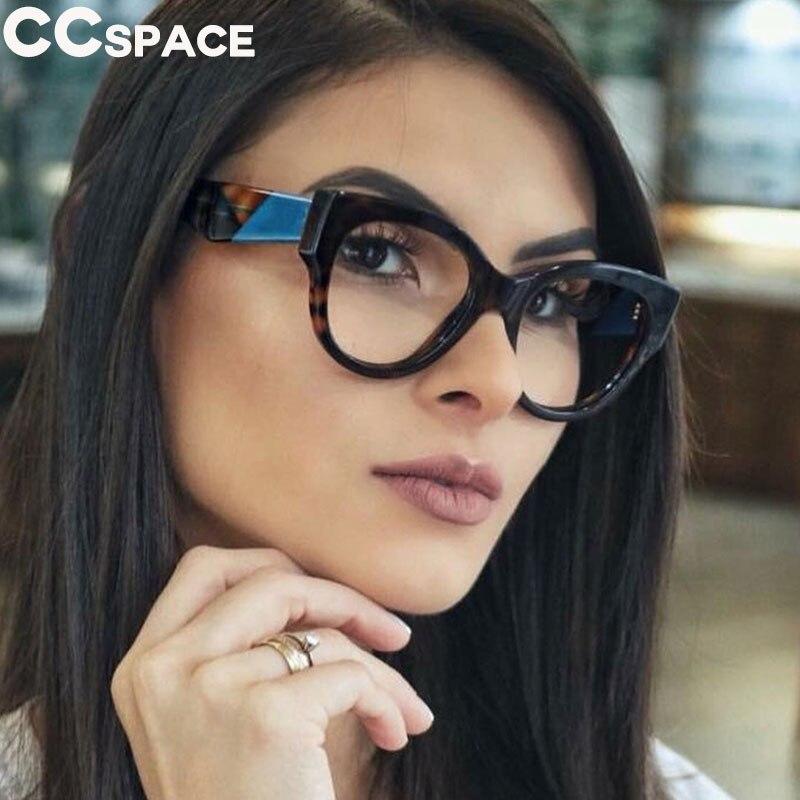 100% Wahr Cat Eye Runde Brille Rahmen Frauen Retro Styles Designer Optische Mode Computer Brille 45636 Rheuma Lindern