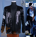 Rare Fashion Cosplay MJ Michael Jackson BILLIE JEAN SEQUINED JACKET - PREMIERE