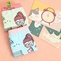 3 unidades/pacote 2016 Nova Moda Bebê Meninas Cueca 5-11years Calcinhas de Algodão Para Meninas Crianças Cuecas Crianças Cuecas Curtas