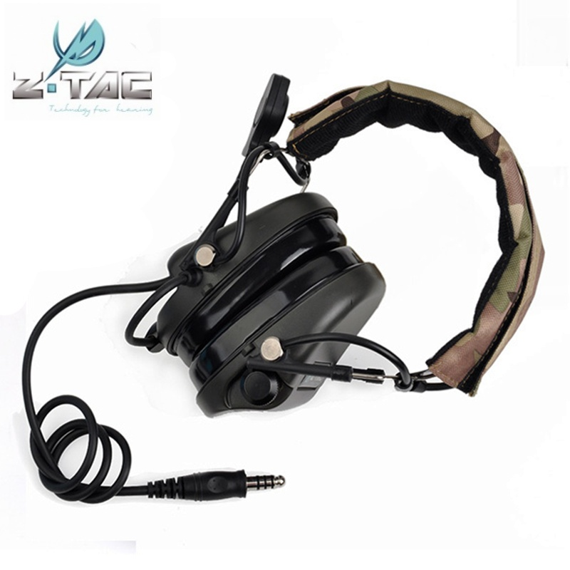 Z Tactical Z110 TEA Hi-Threat Tier 1 Headset Earphone Military Wargame Hunting Airsoft Headphone dress watches 8 z110 15dz110 page 3