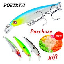 1pcs Minnow Fishing Lures 5cm 2.1g Bass Trolling Artificial Hard Bait Crankbait Wobblers 3D Eyes for Carp Pesca 30