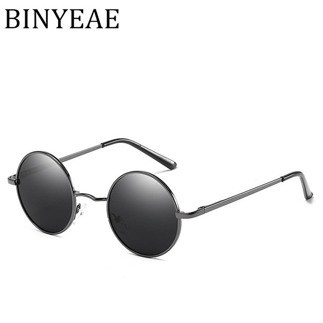 7416bed5a2b BINYEAE Factory direct classic polarized sunglasses Stylish men and women  round sunglasses