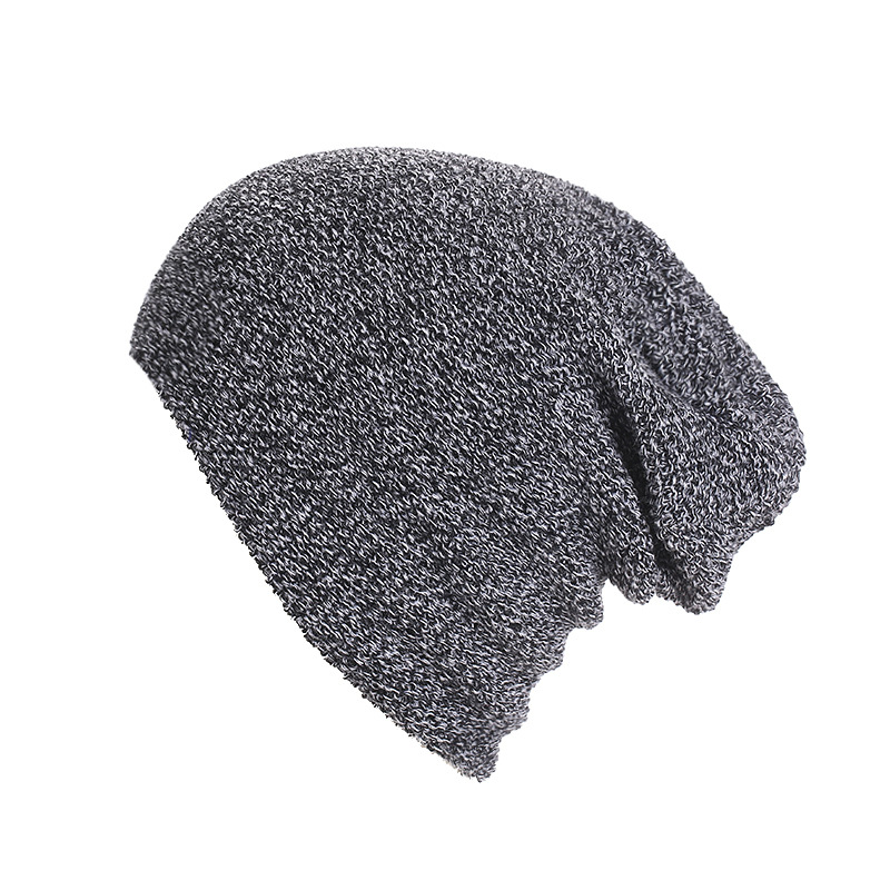 Autumn and Winter Warm Hats Solid  Beanies Set of Head Cap  Knitted Hat  for Girl and Boy Candy Color bingyuanhaoxuan2017 warm patchwork hats casual female autumn winter hats handmade coarse knitted hat for women beanies candy cap