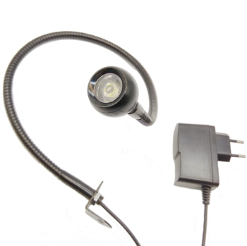 with outlets 1w led hotel gooseneck wall lamp