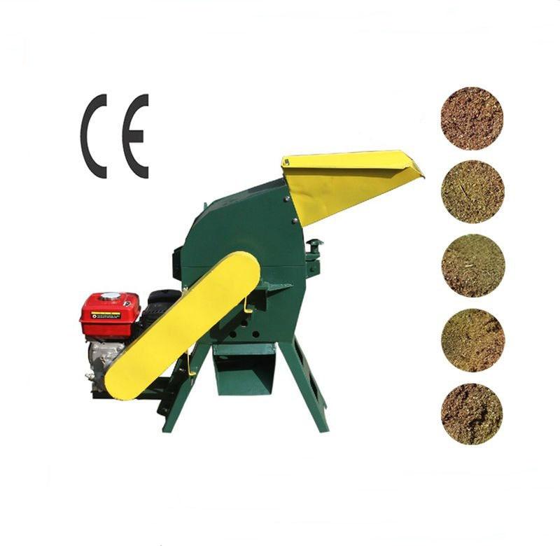 CF198 7.5HP Gasoline Engine Hammer Mill Animal Feed Hammer Mill