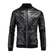 Leather Jacket Motorcycle Winter High Quality Soft PU Male Faux Men Casual Thick Warm Classic Mens Jackets Coat
