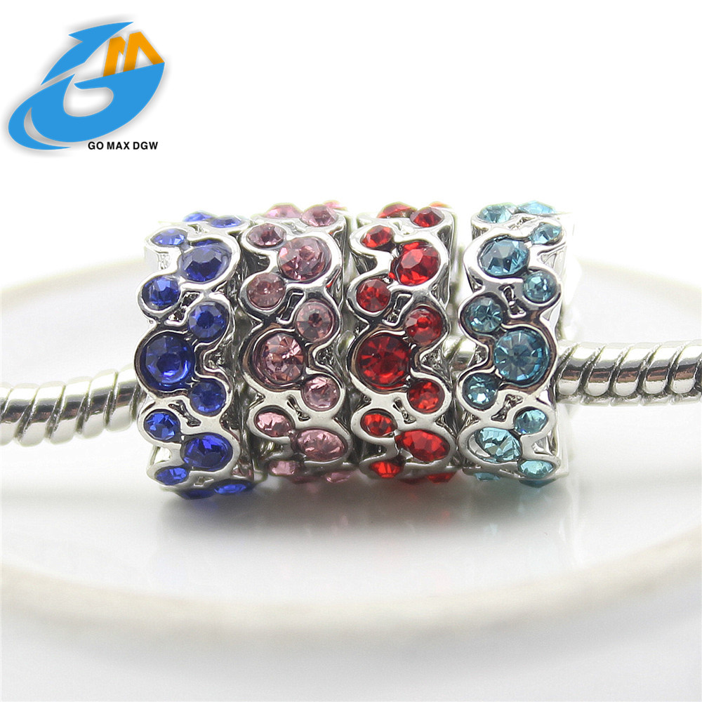 4 colour Inspiration Spacer Charm Bead Fit Original Pandora Bracelet Pendant Best Price Aliexpress