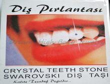 Novo estilo temporário jóias de dente melhor cristais austríacos dentes jóias cristais fantasia menina jóias sparkles 2mm gem