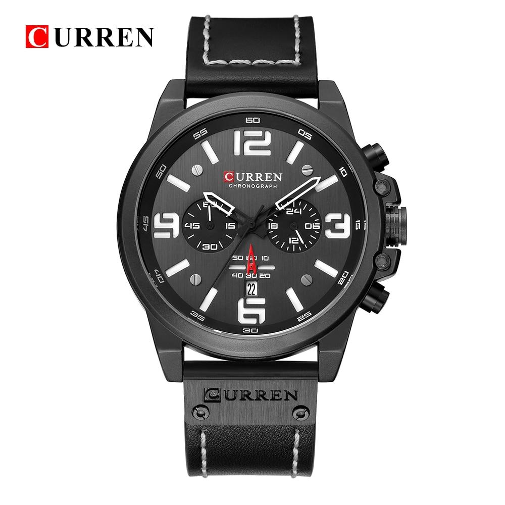 CURREN 8314 Casual Waterproof Watch 5