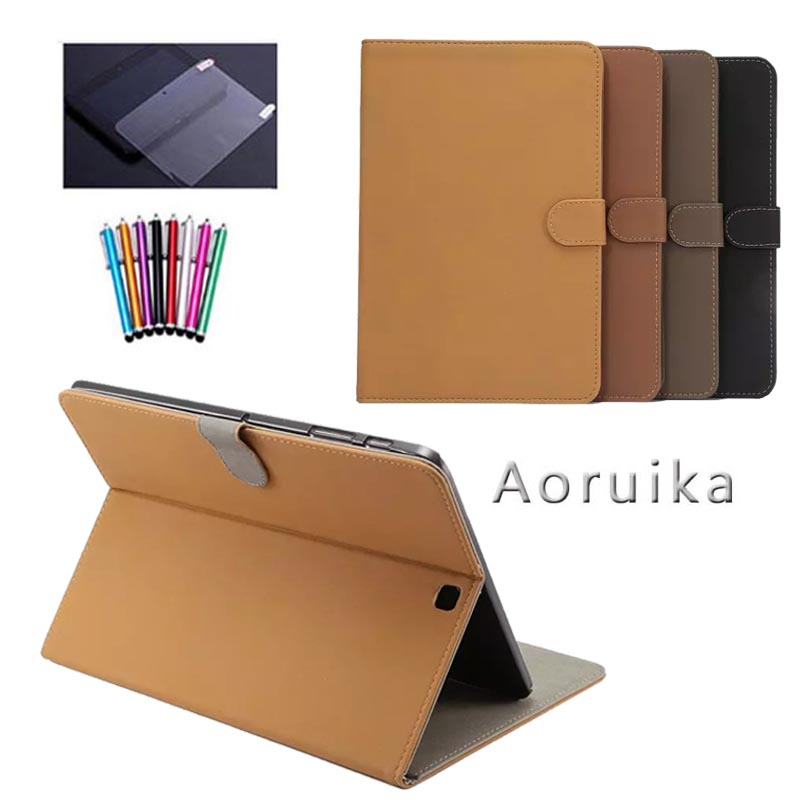 Retro Flip pu Leather Smart Case For Samsung Galaxy Tab S2 T810 T815 T819 813 9.7 Magnetic Stand Tablet PC Bag ultra thin smart flip pu leather cover for lenovo tab 2 a10 30 70f x30f x30m 10 1 tablet case screen protector stylus pen