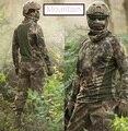 Python Tático Combate Roupas Tshirt ativo dos homens Camuflagem de Secagem rápida de Manga Comprida T-Shirt Airsoft Kryptek Camo T Camisa Masculina