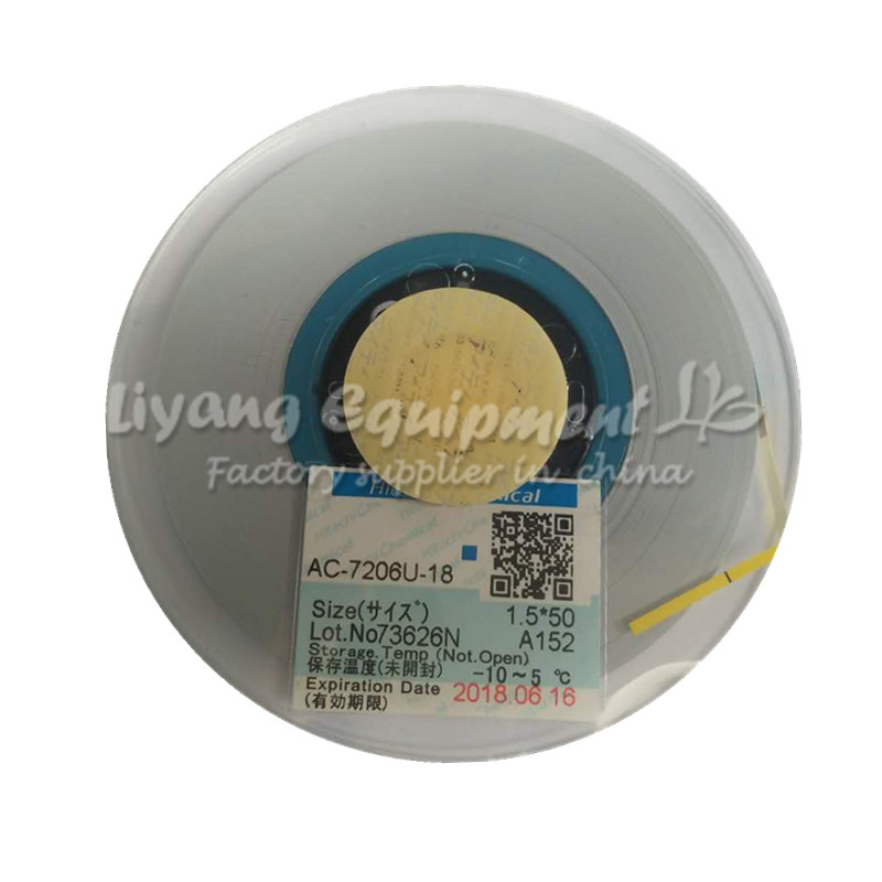 Power Tool Accessories Hand & Power Tool Accessories Analytical Newest Original Acf Ac-7206u-18 Pcb Repair Tape 50m Latest Date For Pulse Hot Press Flex Cable Machine Use Pleasant In After-Taste