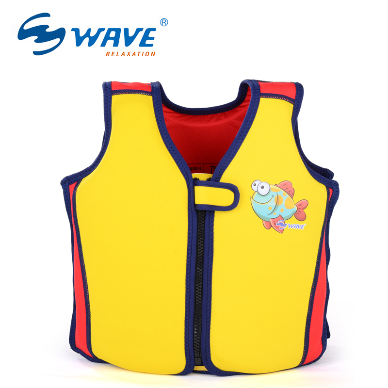 WAVE Baby life Vest Jacket 2-7 Years Child Swim Trainer Buoyancy Swimsuit float Piscine Swimming Pool Accessories float Piscine piscine accessoires pool baby swimming pools eco friendly pvc baby inflatable swim accessories water swim float necessaries