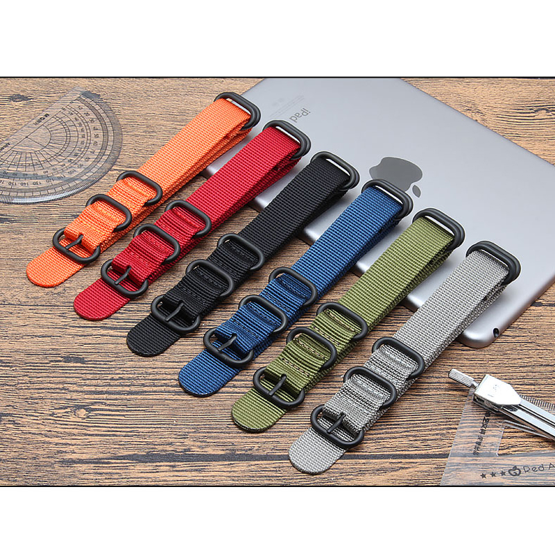 22mm/20mm/18mm/24mm Huawei Watch Gt Strap For Samsung Galaxy Watch 46mm Active S3 Frontier Watch Band Woven Nylon Belt