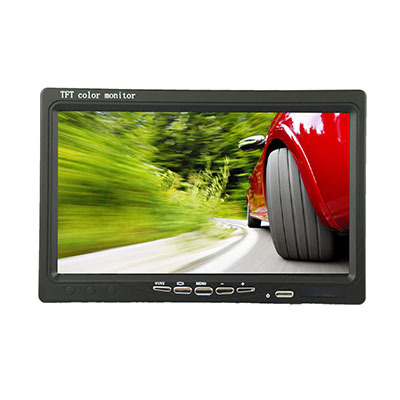 US $62 99 |7 Inch TFT LCD Color HD Monitor As Computer Screen CCTV DVR  Camera Mini Monitor LCD Car TV Monitor Hot in China-in Car Monitors from