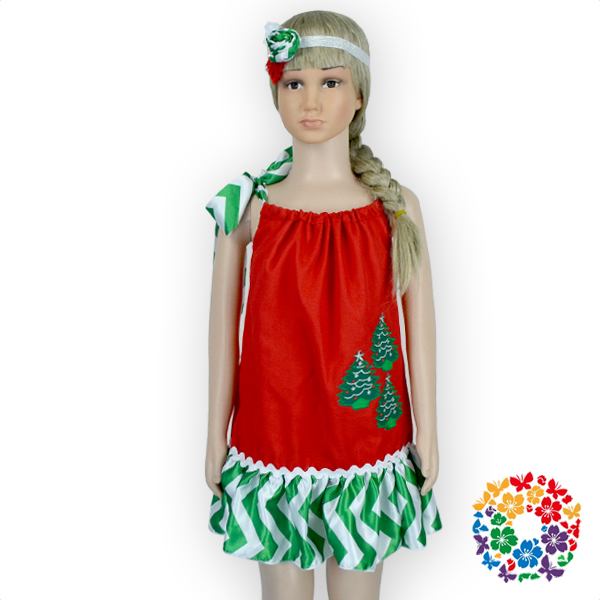 Fashion Hand Embroidery Designs For Baby Dress Red Christmas Wedding