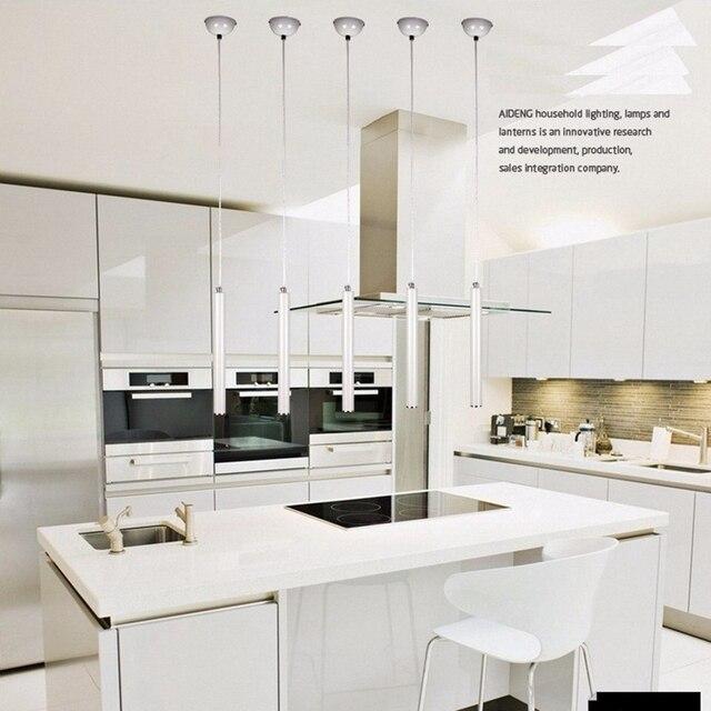 LukLoy Anhänger Lichter Moderne Küche Lampe Esszimmer Wohnzimmer Shop Licht  Rohr Anhänger Lichter Küche Bar Zähler