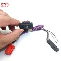 Stylo przełącznik przycisku bagażnika samochodu z kablem do 2012-2014 Octavia