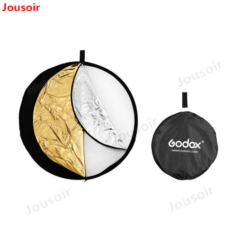 Godox 43 ''110 см 5 в 1 Портативный складной свет Круглый Фото Отражатель для студии CD50