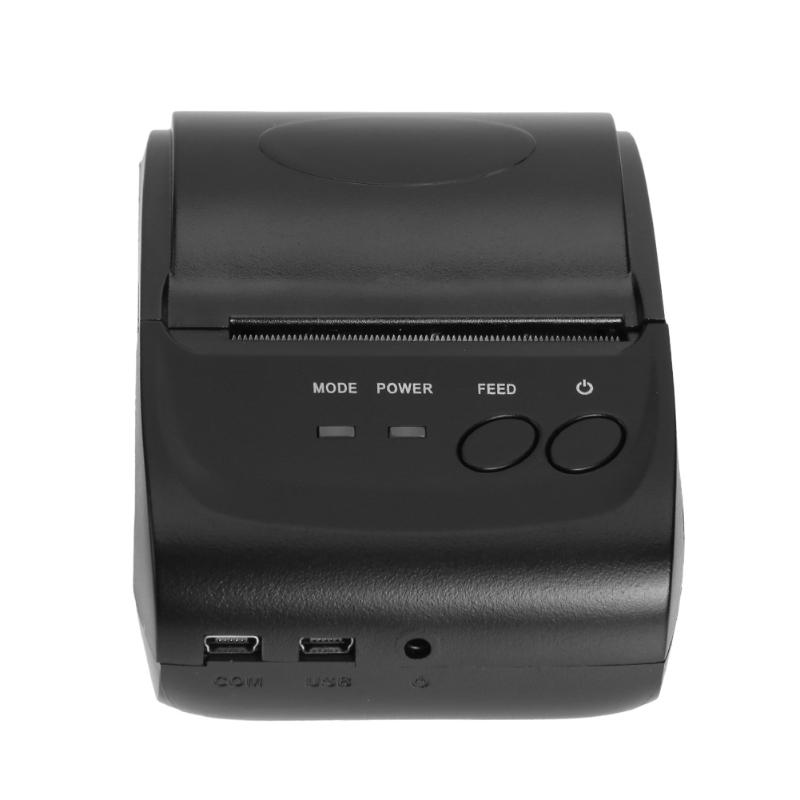 ALLOYSEED POS-5802 203DPI Mini Thermal Printer Portable USB Ports Thermal Receipt Wireless Bluetooth Printer brand new 90mm sec 203 203dpi 58hb 2 portable mini bluetooth wireless receipt thermal printer for android for windows a s0