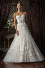 2016 High Quality Elegant Sweetheart Ball Gown Wedding Dresses Off the Shoulder Sleeveless Court Train Lace Wedding Gowns ZY240