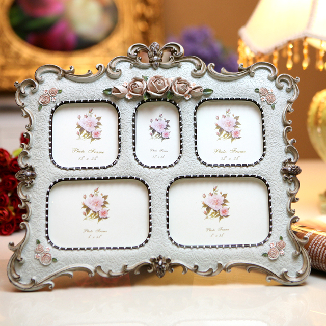 c96d6a91b9b Beautiful resin craft Family Photo frames