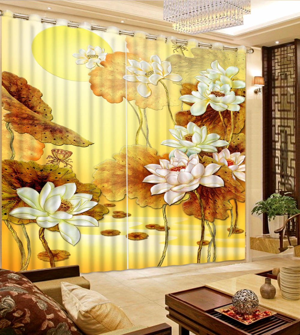 Pastoral Style Curtains The Bedroom Living Room Curtains Polyester/Cotton Printing Photo Window DrapesPastoral Style Curtains The Bedroom Living Room Curtains Polyester/Cotton Printing Photo Window Drapes