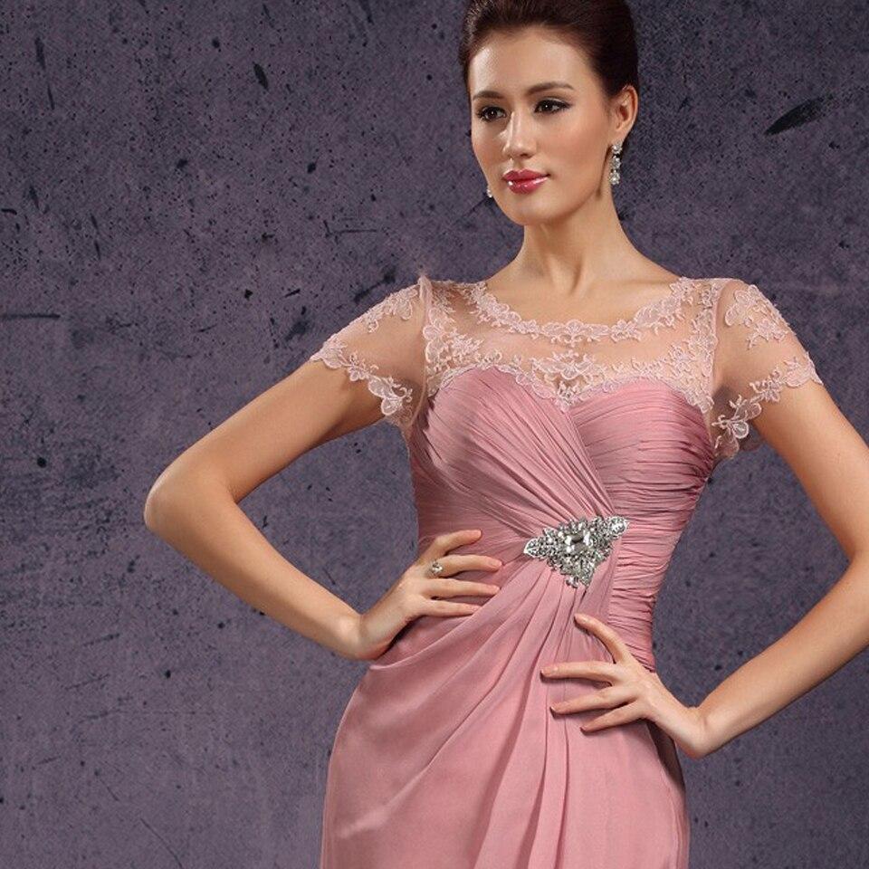 Lujoso Vestidos De Cóctel De Color Rosa Para Barato Ilustración ...