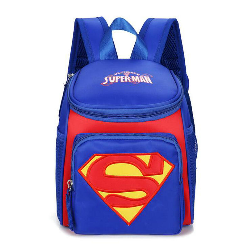 2019 New School Bags For Toddler Kids Cute Children Schoolbag Superman Backpack For Boys Girls 1-3 Years Old