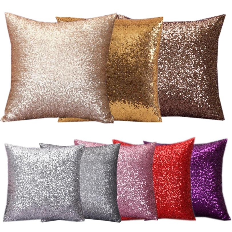 Pillow Cases 40*40CM Maple Leaf Printed Pillow Case Square Fresh Patterns Square Pillow Covers Wholesale Pillowcases 40D7