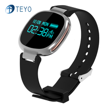 Teyo Умный Браслет E08 Bluetooth 4.0 Чсс Монитор Сна Водонепроницаемый Носимых Устройств Фитнес-Трекер для IOS и Android