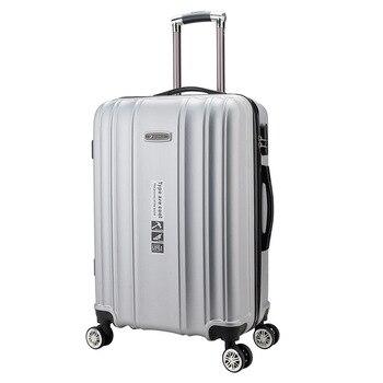 4b3f474e32f5d 24 inç tekerlekli çanta/çanta Kadın Seyahat Bavul tekerlekler Rolling Bagaj  Taşımak Adam 20 inç Yatılı Kutusu Seyahat çanta Gövde
