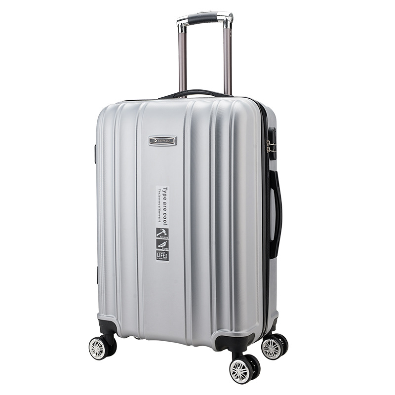New!Fashion 2024 Inches Trolley Case ABS Students Travel Waterproof Carry On Luggage Rolling Suitcase Extension Boarding Box 2024 inches combination lock trolley case abs students women travel frosted luggage rolling suitcase men business boarding box