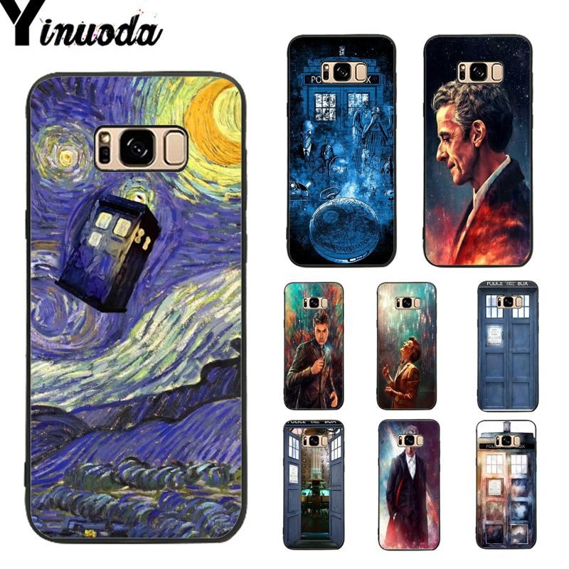 Half-wrapped Case Amicable Yinuoda Doctor Who Diy Printing Tpu Phone Case For Samsung Galaxy S9 Plus S7 Edge S6 Edge Plus S5 S8 Plus Case Clearance Price Phone Bags & Cases