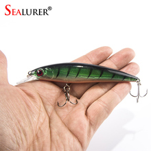 Laser Floating Wobbler 11CM 13.5G Lifelike Minnow Fishing Lure Crankbait Hard Bait Fly Fishing Tackle 10 Colors Available