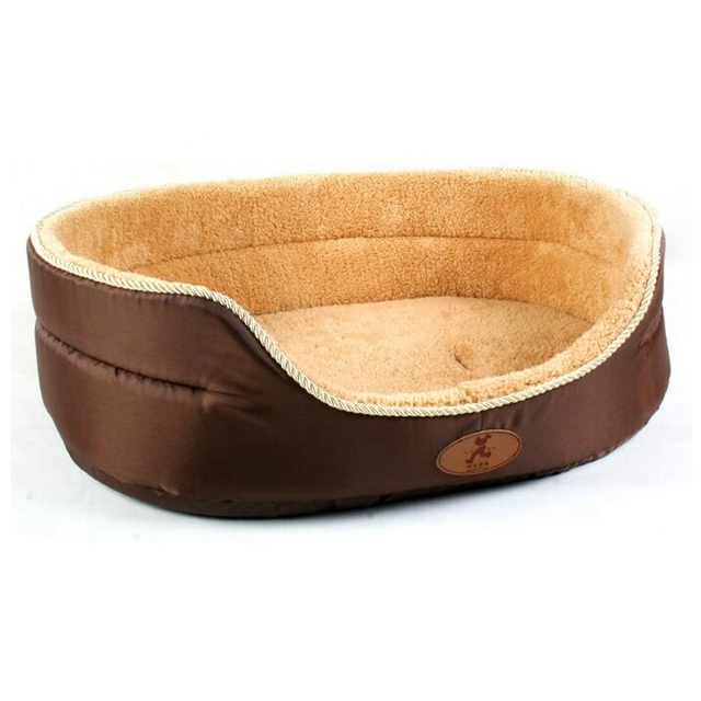 Pet Dog Bed Double Sided Available Big Size Pet Bed House Soft Kennel Plush Lining Dog Cat Wamer Bed S/L